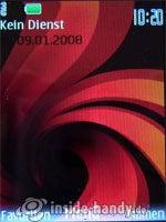 Nokia 6500 Classic: Startbild