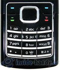 Nokia 6500 Classic: Tasten