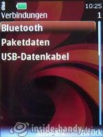 Nokia 6500 Classic: Verbindungen