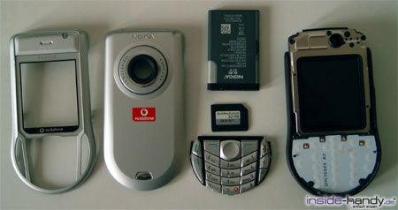 Nokia 6630 - auseinander