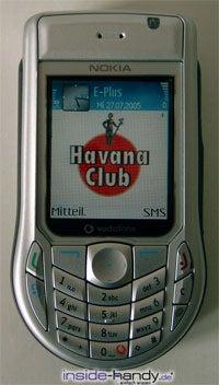 Nokia 6630 - Display