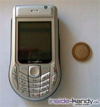 Nokia 6630 - größe neben Euro