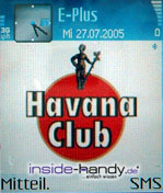 Nokia 6630 - Hintergrundbild