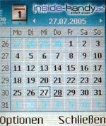 Nokia 6630 - Kalender