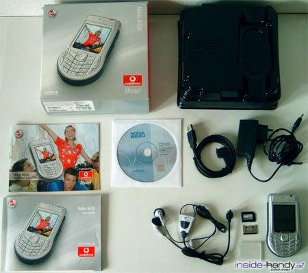 Nokia 6630 - Lieferumfang