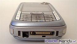 Nokia 6680 - Anschlüsse von unten