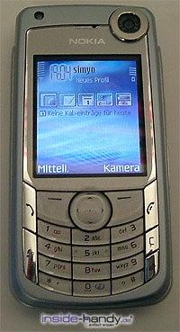 Nokia 6680 - Front