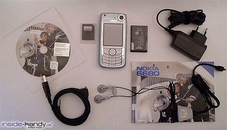 Nokia 6680 - Lieferumfang