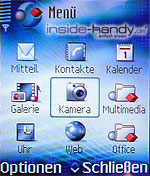Nokia 6680 - Menü