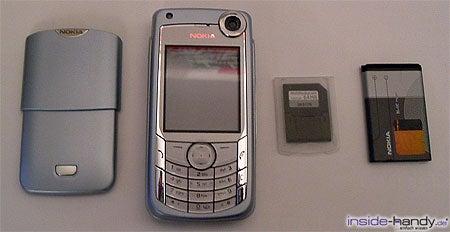 Nokia 6680 - zerlegt von vorn