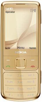 Nokia 6700 classic Gold Edition Datenblatt - Foto des Nokia 6700 classic Gold Edition