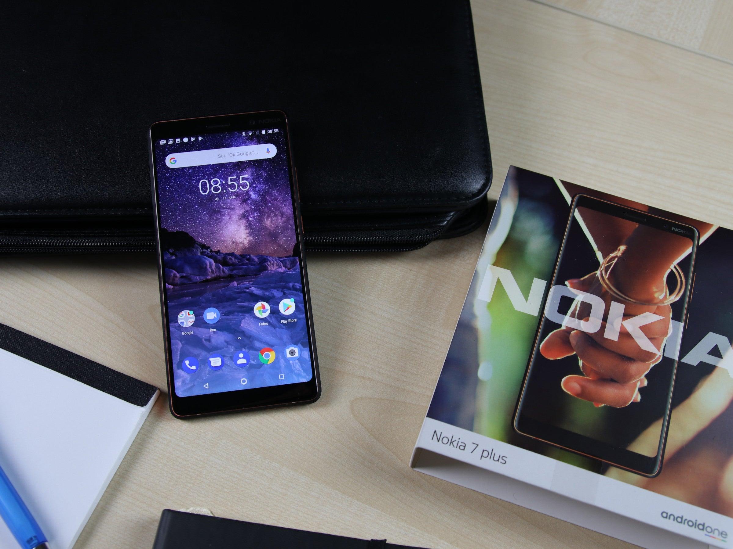 Das Nokia 7 Plus im Hands-On