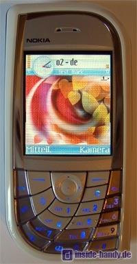 Nokia 7610 - Frontalansicht
