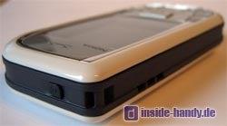 Nokia 7610 - Oberseite
