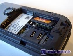 Nokia 7610 - Speicherkartenplatz