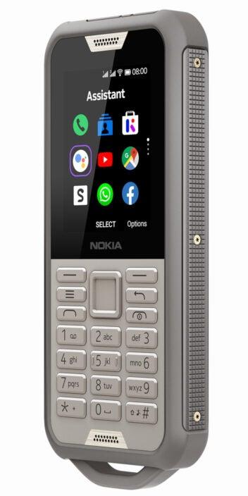 Nokia 800 Tough seitlich vorne