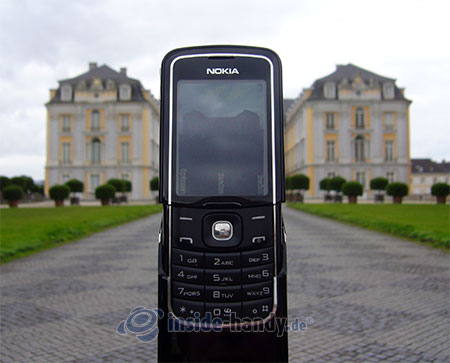 Nokia 8600 Luna: beim Fotografieren