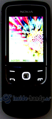 Nokia 8600 Luna: Beleuchtung