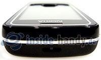 Nokia 8600 Luna: Draufsicht oben