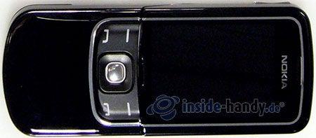 Nokia 8600 Luna: Draufsicht