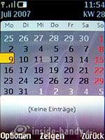 Nokia 8600 Luna: Kalender