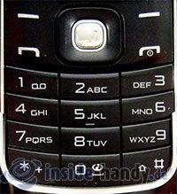 Nokia 8600 Luna: Tastatur