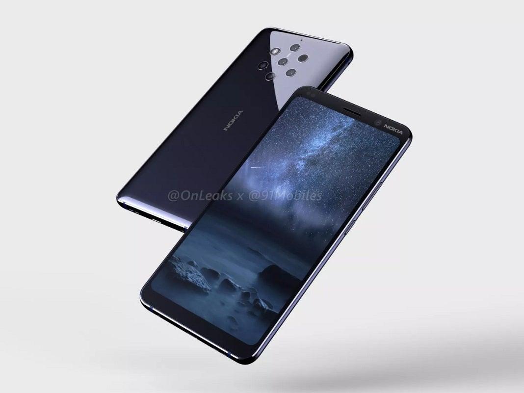 Nokia 9 Render-Bild