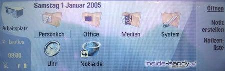 Nokia 9300 - Anzeige