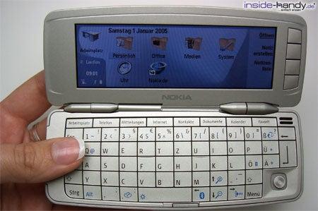 Nokia 9300 - aufgeklappt