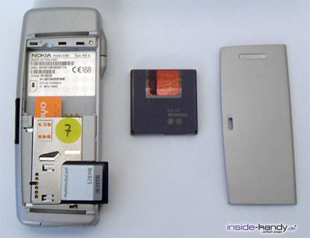 Nokia 9300 - auseinander