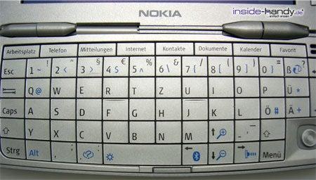 Nokia 9300 - QWERTZ-Tatstatur