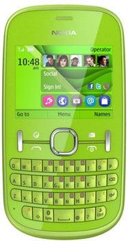 Nokia Asha 201 Datenblatt - Foto des Nokia Asha 201
