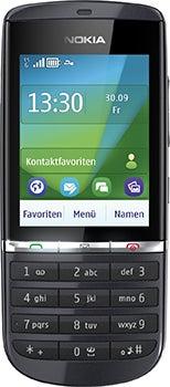 Nokia Asha 300 Datenblatt - Foto des Nokia Asha 300