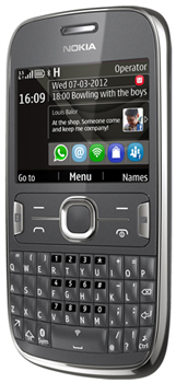Nokia Asha 302 Datenblatt - Foto des Nokia Asha 302