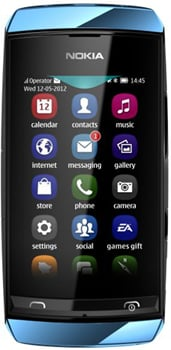 Nokia Asha 306 Datenblatt - Foto des Nokia Asha 306