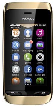 Nokia Asha 308 Datenblatt - Foto des Nokia Asha 308