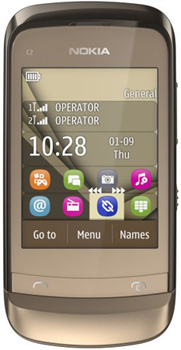 Nokia C2-06 Touch and Type Datenblatt - Foto des Nokia C2-06 Touch and Type