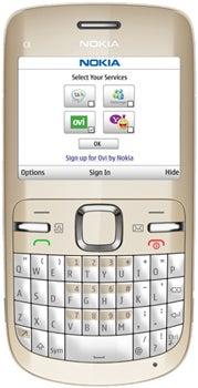 Nokia C3-00 Datenblatt - Foto des Nokia C3-00