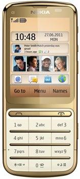 Nokia C3-01 Gold Edition Datenblatt - Foto des Nokia C3-01 Gold Edition