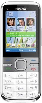 Nokia C5-00 Datenblatt - Foto des Nokia C5-00