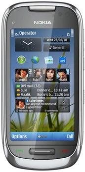 Nokia C7-00 Datenblatt - Foto des Nokia C7-00