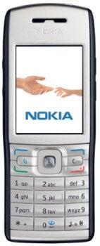 Nokia E50 Datenblatt - Foto des Nokia E50