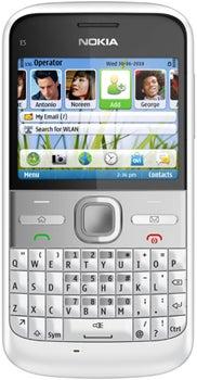 Nokia E5-00 Datenblatt - Foto des Nokia E5-00