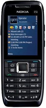 Nokia E51 Datenblatt - Foto des Nokia E51