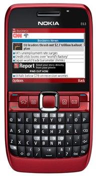 Nokia E63 Datenblatt - Foto des Nokia E63