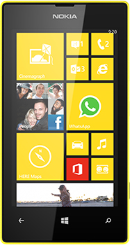 Nokia Lumia 520 Datenblatt - Foto des Nokia Lumia 520
