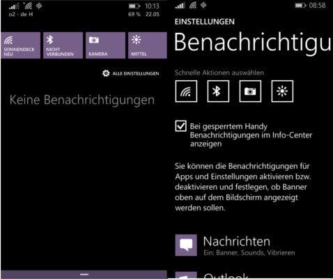 Nokia Lumia 630 Info-Center