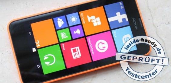 Das Nokia Lumia 630 Mit Windows Phone 81 Im Test