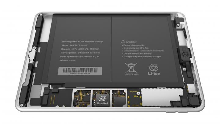 Nokia N1 Komponenten