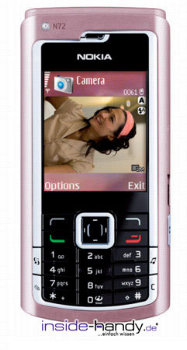 Nokia N72 Datenblatt - Foto des Nokia N72